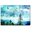 """Oliver Gal """"Mount Ashland"""" by Canyon Gallery Graphic Art on Wrapped Canvas"""