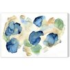 "Oliver Gal ""Bunches of Hydrangeas"" by Artana Painting Print on Wrapped Canvas"