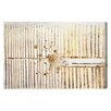Oliver Gal Love Force Field Gold Graphic Art on Canvas