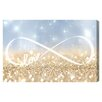 Oliver Gal Infinite Love Sign Graphic Art on Canvas