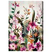 Oliver Gal Flower Madness Painting Print on Wrapped Canvas