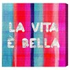 Oliver Gal 'Vita Bella' Painting Print on Wrapped Canvas
