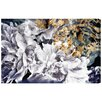 Oliver Gal 'Dos Gardenias' Painting Print on Wrapped Canvas