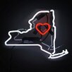 Oliver Gal New York Neon Sign