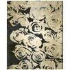 Oliver Gal 'Dark Rose' Painting Print on Canvas