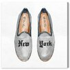 Oliver Gal New York Slippers Painting Print on Canvas