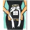 Oliver Gal 'Black Perfume' Painting Print on Canvas