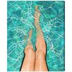 Oliver Gal Summer Legs Painting Print on Canvas