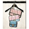 Oliver Gal 'Closet Purses' Painting Print on Canvas