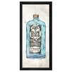 Oliver Gal 'Blue Bird Gin' by Hatcher & Ethan Framed Painting Print