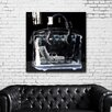 "Oliver Gal Oliver Gal ""Couture X Ray"" High Gloss Canvas Art"