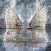 Oliver Gal 'My Silver Wings' Painting Print
