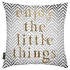 Oliver Gal Enjoy The Little Things Throw Pillow