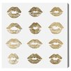 Oliver Gal 24k Kisses Canvas Print, Oliver Gal