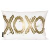 Oliver Gal Home Warrior XOXO Throw Pillow