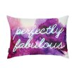 Oliver Gal Perfectly Fabulous Throw Pillow