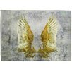 Oliver Gal My Golden Wings Area Rug
