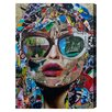 Oliver Gal 'Timing Is Everything' by Katy Hirschfeld Graphic Art on Wrapped Canvas