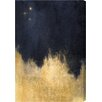 Oliver Gal Stars in the Night Gallery Painting Print on Wrapped Canvas