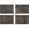 Oliver Gal The Art Cabinet 'Celestial Map XVI Century' 4 Piece Graphic Art on Wrapped Canvas Set