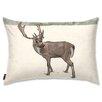 Oliver Gal Holiday 'Lone Reindeer' Lumbar Pillow