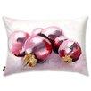 Oliver Gal Holiday 'Pink Christmas' Lumbar Pillow