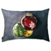 Oliver Gal Holiday 'Ornaments' Lumbar Pillow