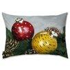 Oliver Gal Holiday 'Xmas Time' Lumbar Pillow
