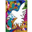 Oliver Gal Oliver Gal Hummingbird of Peace Graphic Art on Canvas
