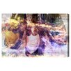 Oliver Gal Oliver Gal Champagne Bath Graphic Art on Wrapped Canvas