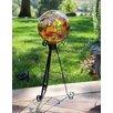 Evergreen Flag & Garden Tall Solar Gazing Ball Stand