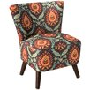 Skyline Furniture Slipper Chair in Marengo Espresso