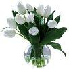 Jane Seymour Botanicals Tulip in Bubble Bowl