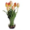 Jane Seymour Botanicals Tulips in Bud Vase