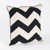 Saro Chilton Chevron Design Throw Pillow