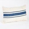 Saro Les Baux de Provence Striped Design Throw Pillow