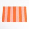 Saro Striped Design Placemat (Set of 4)