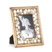 Saro Beaded Design Picture Frame