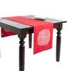 Saro Spice Market Stitched Design Table Runner