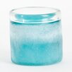 Saro Seascape Hand Blown Glass Votive