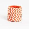 Saro Braided Design Napkin Rings (Set of 4)