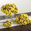 Saro Exotic Small Floral Arrangements Cluster (Set of 12)