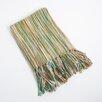 Saro Woven Design Throw Blanket