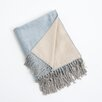 Saro Bamboo Reversible Throw