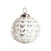 Saro Joyeaux Noel Glass Ball Christmas Ornament (Set of 4)