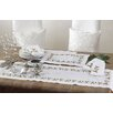 Saro Holiday Holly Embroidered Placemat (Set of 4)