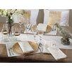 Saro Linette Hemstitched Design Placemat (Set of 12)