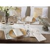 Saro Linette Hemstitched Design Placemat (Set of 12)
