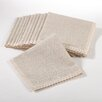 Saro Dinner Napkin with Lace Border (Set of 12)