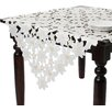 Saro Embroidered and Cutwork Tablecloth